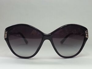 Dolce&Gabbana Women Sunglasses DG4130 Black Cat Eye style ITALY