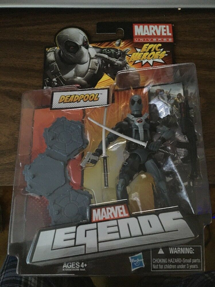 Fr deadpool marvel - legenden epischen helden moc brandneuen actionfiguren x - force