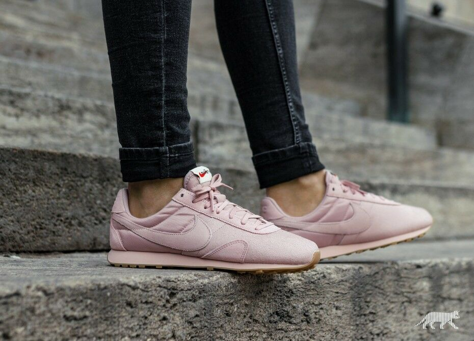 Damenschuhe NIKE PRE MONTREAL SIZE RACER VINTAGE SIZE MONTREAL 5.5 EUR 39 (844930 600) OXFORD PINK 922508