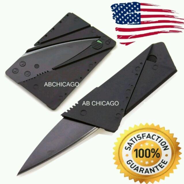 Credit Card Thin Knives Cardsharp Wallet Folding Pocket Micro Knife