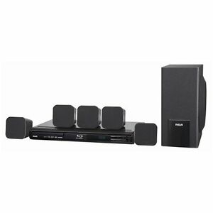 rca rtb10323l 5 1 channel 300w blu ray disc full 1080p hd home rh ebay com RCA 5 Speaker Surround Sound Blu-ray Player RCA Blu-ray Home Theater