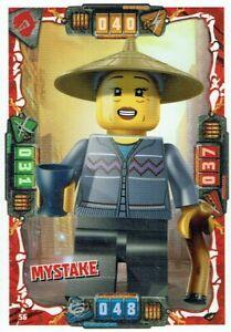Lego-Ninjago-Serie-4-TCG-Cartes-a-Echanger-Carte-Numero-56-Mystake