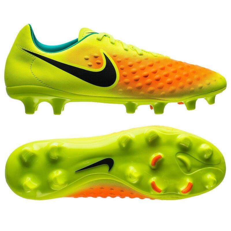 Nike Herren Fussball Nocken Schuhe MAGISTA ONDA II FIRM-GROUND 844411 Gelb Neu