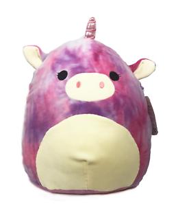 "Kellytoy Squishmallow 13/"" Rainbow Unicorn Soft Plush Animal"