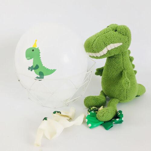 Baby Shower Dinosaur Birthday Party Latex Balloon Xmas Banner Party Supply NEW