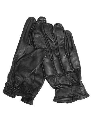 Mil-tec Handschuhe Defender Blei Schwarz Security Lederhandschuhe S-xxl Krankheiten Zu Verhindern Und Zu Heilen