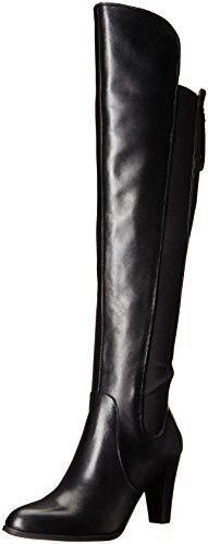 vendita all'ingrosso NIB  249 Adrienne Vittadini Tex Tex Tex Over-the-Knee stivali - nero Leather - Dimensione 6  servizio di prima classe