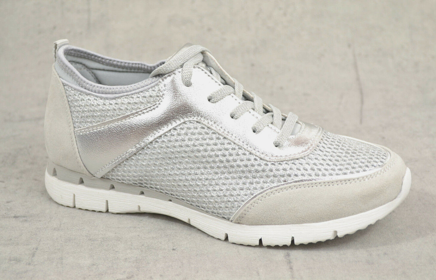 NEU Marco Tozzi Damen Sommer Sneaker Damen Damen Damen Sport Schuhe silber comfort Sneakers 32b25f