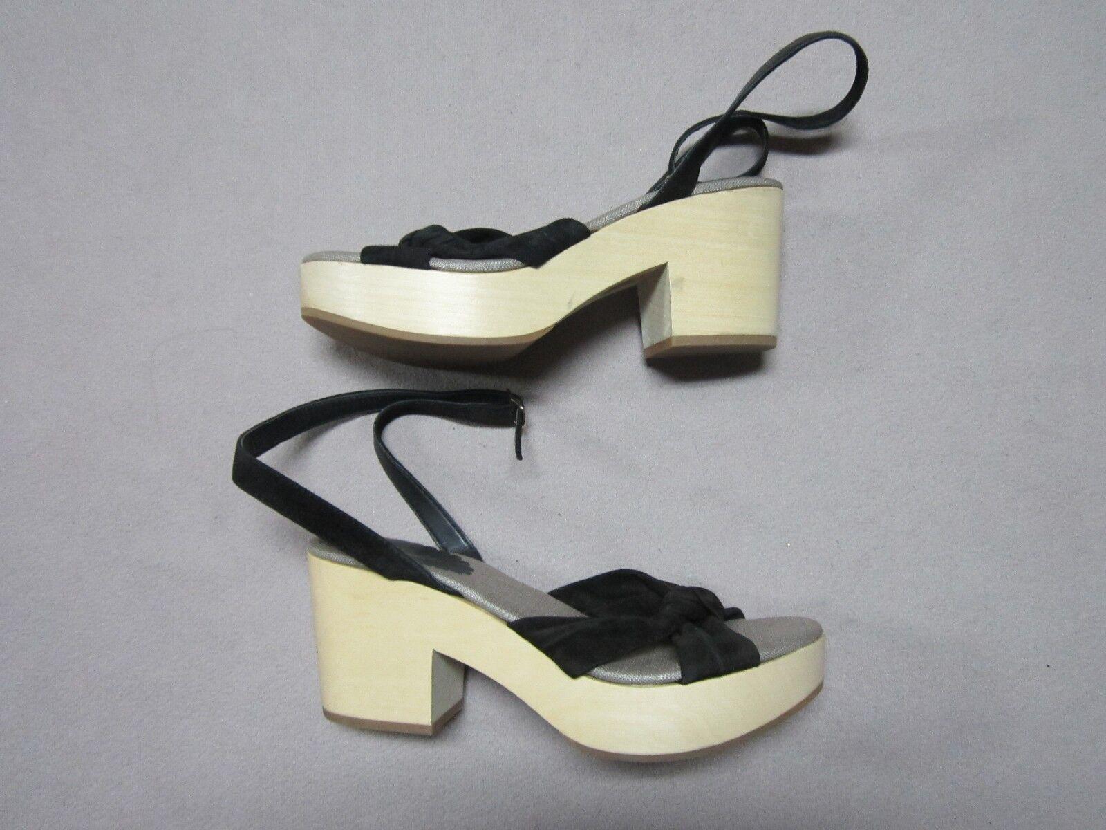 MISS ALBRIGHT ANTHROPOLOGIE Damenschuhe PETRA CLOG HEELS Schuhe SIZE 7 NEU ITALY MADE