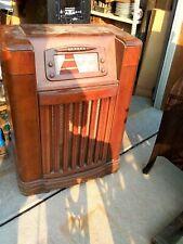Antique Philco Tube Console Radio Model 46 1209 Parts Or Repair Phonograph