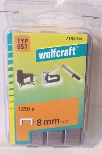 Tackerklammern   WO  Typ  NTF    1250 Stück  in 8mm   f.Swingline 800,900,100