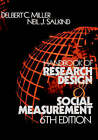 Handbook of Research Design and Social Measurement by SAGE Publications Inc (Hardback, 2002)