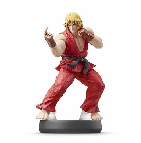 Amiibo Ken Súper Smash Bros Mini Figura Juego Juguete Nintendo Switch Nuevo 2019