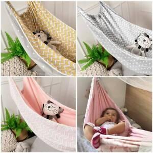 Children S Hammock Swing Baby Rocking Chair Indoor Outdoor Hanging Basket Ebay