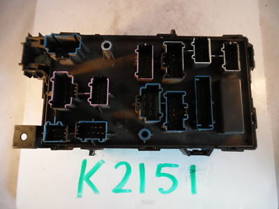 05 06 07 FORD F-250 F-350 DIESEL FUSE PANEL RELAY BOX ...