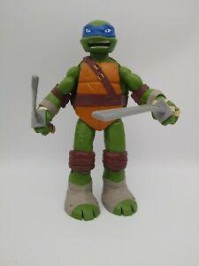 Tmnt Ninja Turtles Action Figure Leonardo Toy Viacom 2012 10 Inch