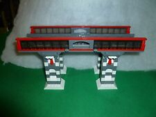 LEGO TRAIN TRENO EISENBAHN ZUG CITY PONTE BRIDGE RC RAILS SCHIENEN MODULAR
