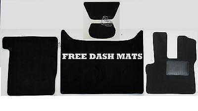 Daf Xf 106 Man Black Black Tailored Floor Car Mats Carpet //Rubber