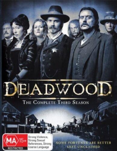 1 of 1 - Deadwood : Season 3 (DVD, 2007, 4-Disc Set)