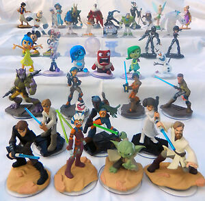 Disney-Infinity-Figures-CHOICE-OF-1-0-2-0-3-0-Marvel-Star-Wars-Inside-Out