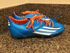 Adidas F30 TRX FG Soccer Cleats Blue/Orange/White D67196 Size 10