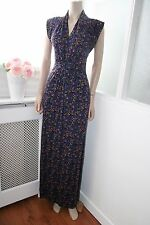 French Connection Long Maxi Ditsy Floral Boho Bohemian Festive Hippie Dress 10