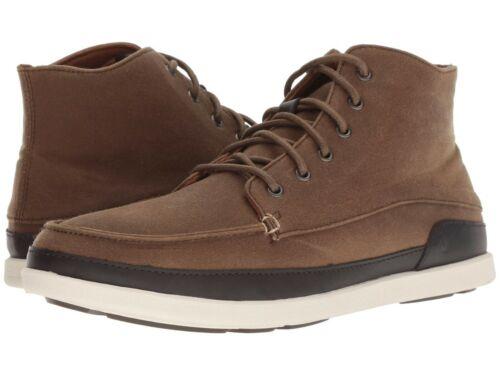 Men/'s Shoes OluKai NALUKAI KAPA Canvas Lace Up Ankle Boots 10377-1319 MUSATANG