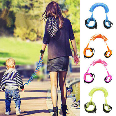 Safety Harness Leash Anti Lost Baby Toddler Kids Wrist Link Wristband Ropes