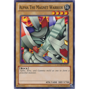 Common Unlimited Edition LCYW-EN012 Alpha the Magnet Warrior