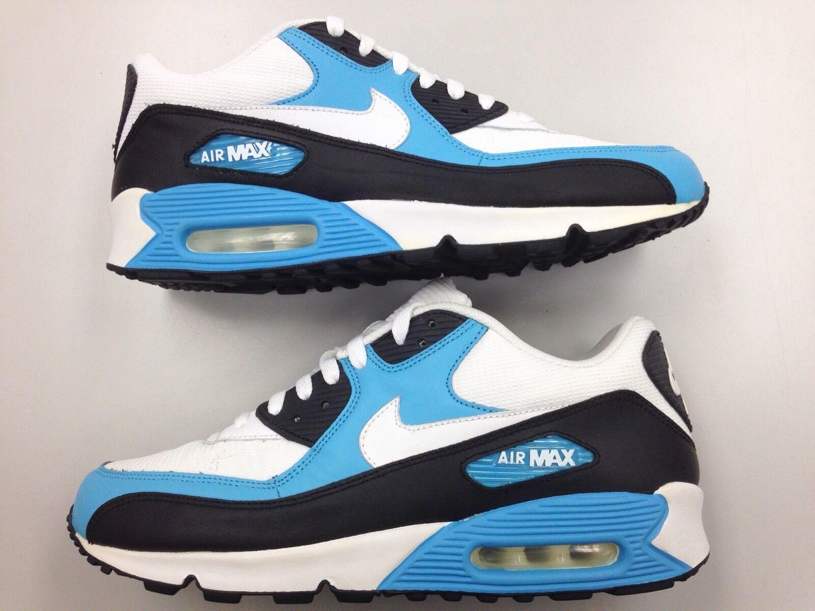 f64f973c68 hot sale 2007 DS Nike Air Max 90 OG Vivid Blue Vtg Men Shoes Size 11 ...