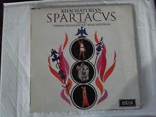 KHACHATURIAN - SPARTACUS - VPO / GAYANEH LP SXL 6000