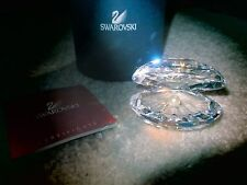 Swarovski Crystal Clam SHELL WITH PEARL Figurine NIB COA MSR. $175.00 - $200.00