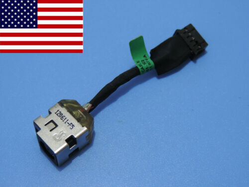 Original DC POWER JACK IN CABLE Harness for HP ENVY 17t-3200 17-3270nr 17-3290nr