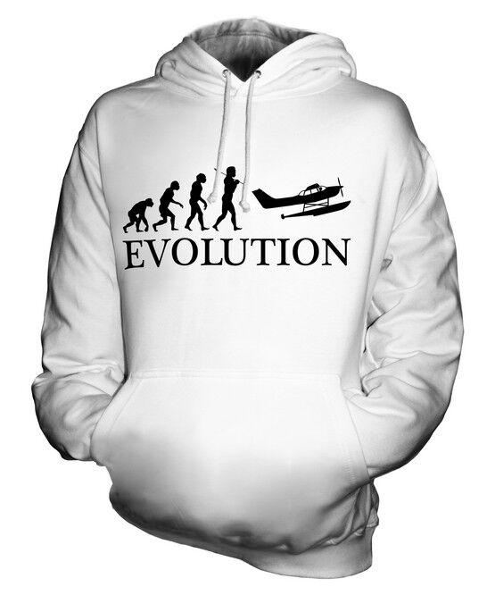 SEAPLANE EVOLUTION OF MAN MAN MAN UNISEX HOODIE TOP GIFT AIRCRAFT PILOT  | Merkwürdige Form  | Hochwertige Produkte  | München  3fa20f