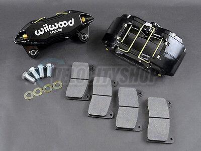 Wilwood DPHA Front Brake Calipers Kit (Black) 92-00 Civic EX / 94-01 Integra GSR