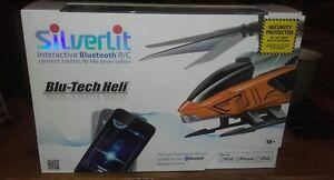 Silverlit BluTech Heli Interactive Bluetooth for iPod iPhone amp iPad - Deeside, United Kingdom - Silverlit BluTech Heli Interactive Bluetooth for iPod iPhone amp iPad - Deeside, United Kingdom