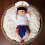 Newborn Baby Girl Boy Clothes Photo Crochet Knit Costume Photography Prop Outfit