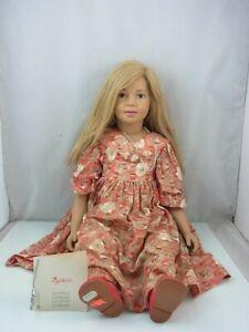 Sigikid, J. Wippler,  Puppe, Handgefertigt, Künstlerpuppe, Vintage, ca.70 cm