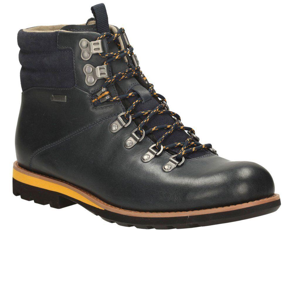 Clarks  Herren  Padley Alp Gtx  Blau Hiking Lea  Hiking Blau Boot  82f5af