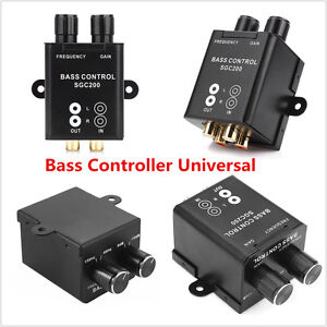 Universal-Car-Remote-Amplifier-Subwoofer-Equalizer-Crossover-Bass-Controller-New