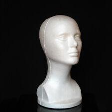 Female Styrofoam Foam Manikin Head Model Mannequin Shop Wig Hair Jewelry Display
