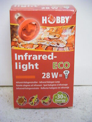 Reptilien Hobby 37580 Infrared Light Eco 28w Modische Muster
