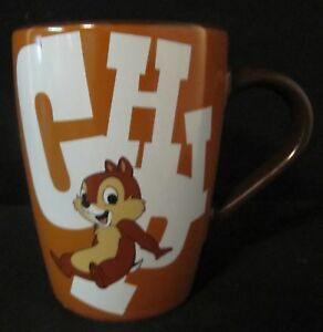 New Details Mug 'n Dale Cup Coffee About Tea Store Rare Disney Brown Chip QhCotrsdxB