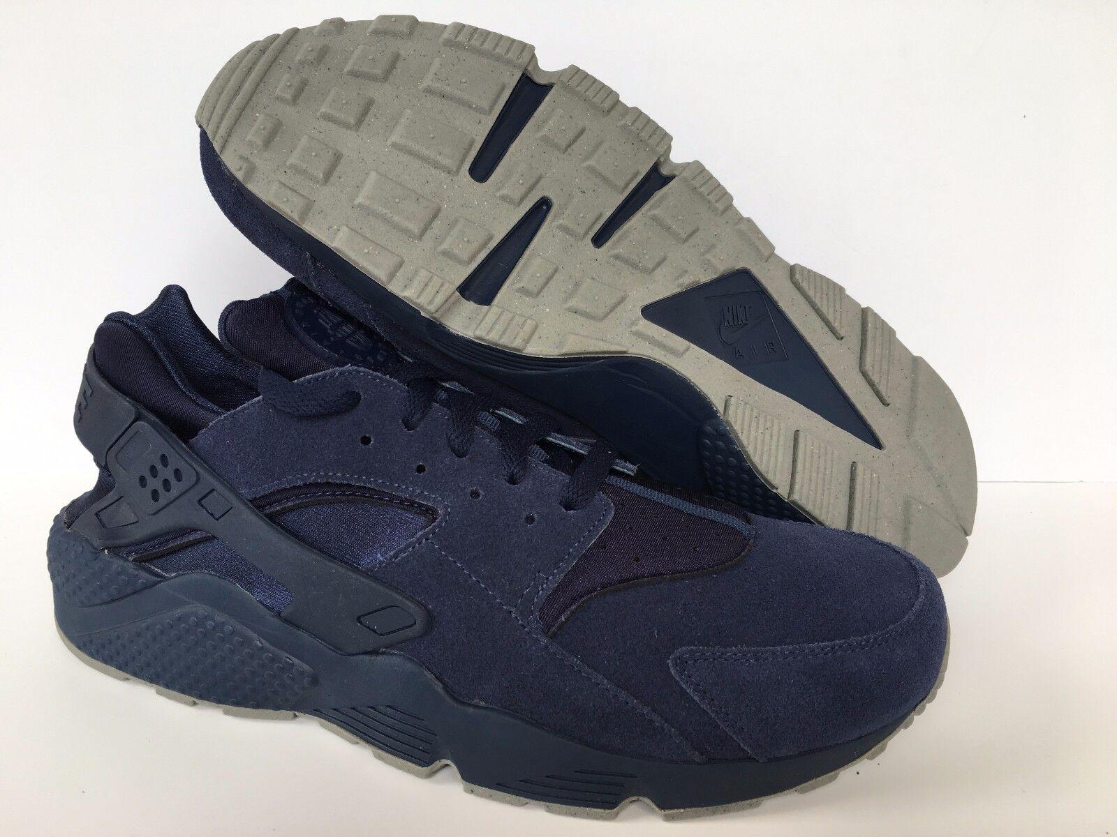 Nike Air Huarache courir iD NikeiD Bleu Leather homme 777330 989 Sz 14