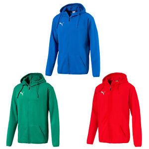 Details zu Puma Liga Herren Casuals Kapuzenjacke Kapuzensweat Hoody verschiedene Farben