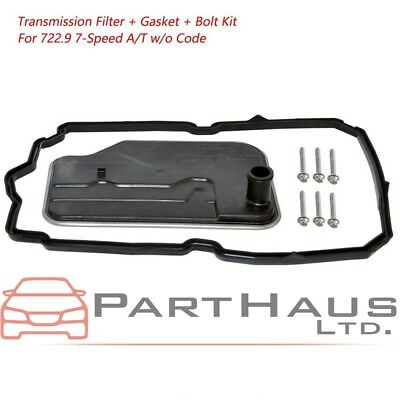 Bolts Kit  722.9 7-Speed A//T Gasket For Mercedes Transmission Filter