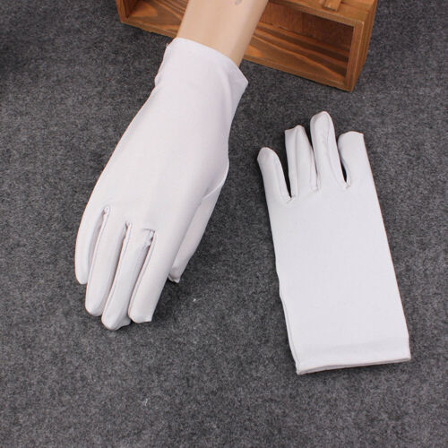 Women's Matte Short Gloves Opera Wedding Bridal Evening Party Costume Gloves New