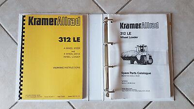 4 Prospekte Technische Daten Kramer Allrad 312 SL SLx LEx Radlader Teleskoplader