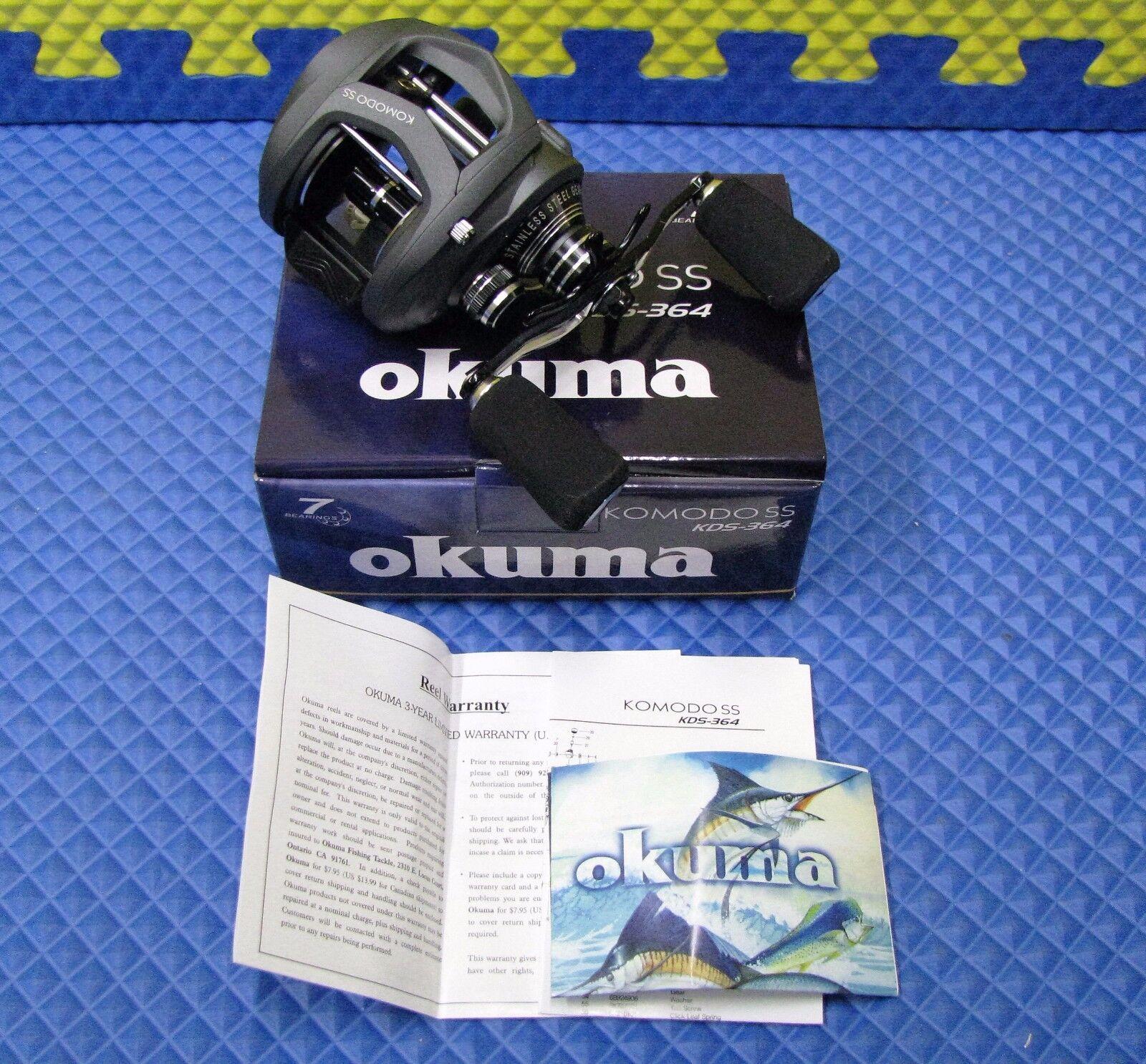 Okuma Komodo SS Niedrig Profile Baitcast Reel KDS-364