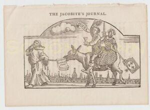 Holzschnitt-Karikatur-18-Jhdt-satirical-print-The-Jacobite-039-s-Journal-caricature